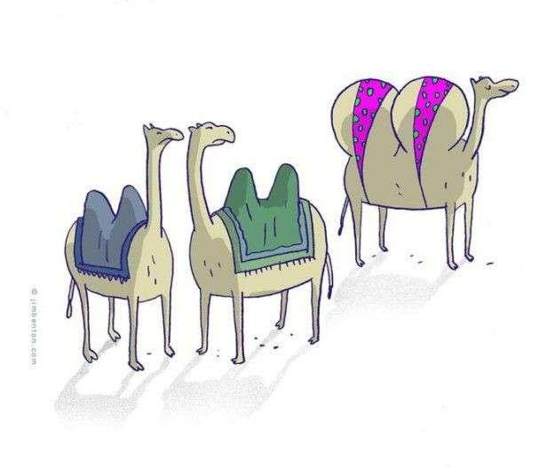 Карикатуры задорной подборочкой. Всем отличного настроения!-15 фото-