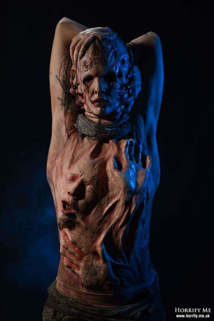 Душа взаперти: ужасающий костюм, вдохновленный психическими расстройствами-13 фото-