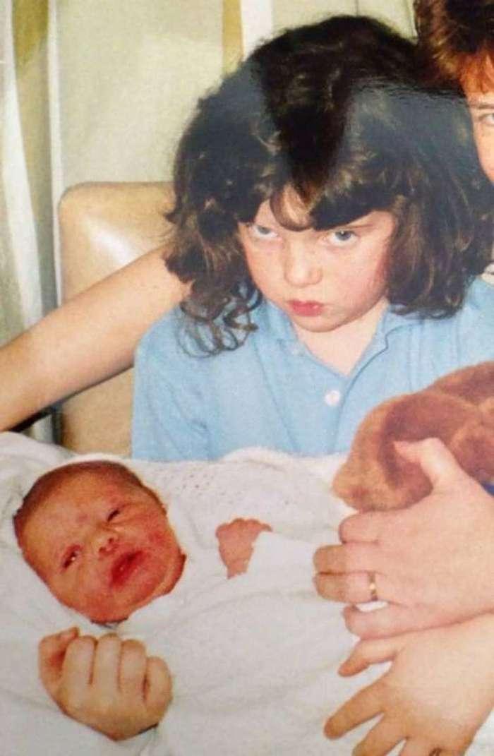 Дети, которые явно не хотели иметь брата или сестру-33 фото-