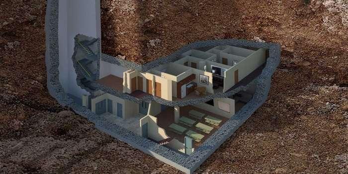 Самые роскошные ядерные бункеры на планете-16 фото-
