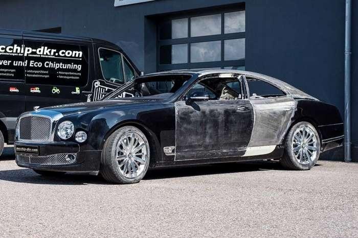Немцы делают купе из лимузина Bentley Mulsanne-21 фото-