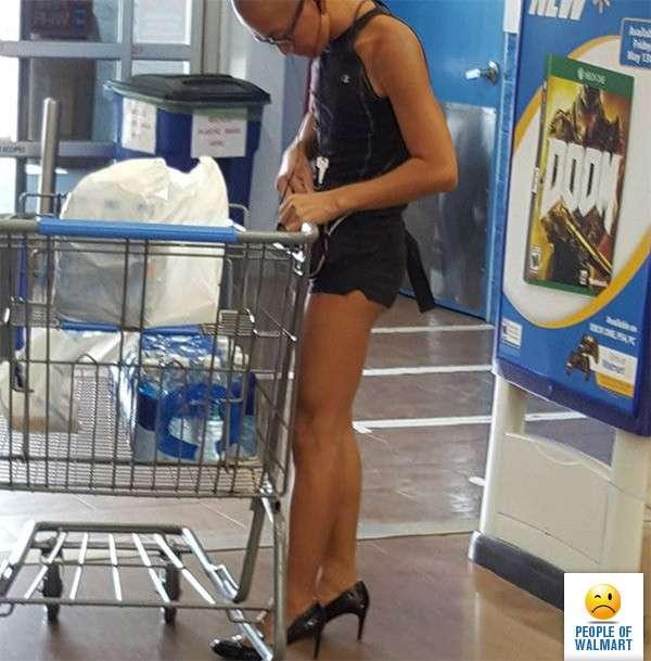 Экстравагантные покупатели Walmart-26 фото-