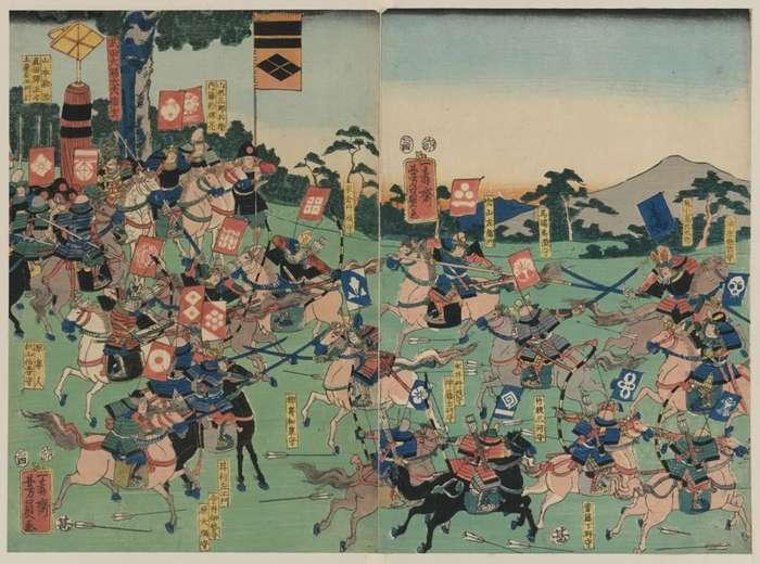 Самурай Ода Нобунага – собиратель земель Японских-10 фото-