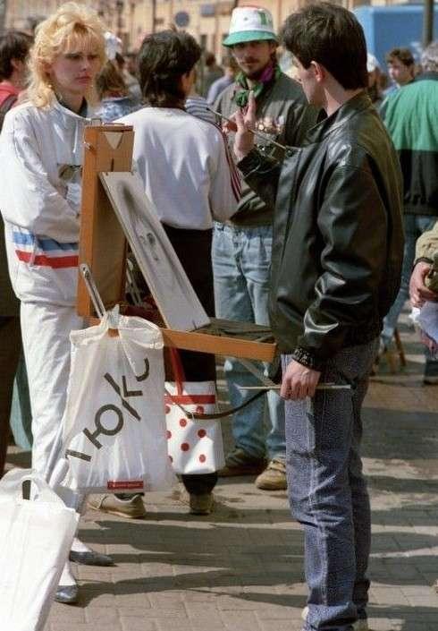 Ходячий антисекс или ужасная одежда 80-90-х гг. Неужели это кому-то могло нравиться?-39 фото-