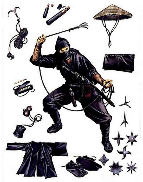 Ниндзя-наемные убийцы и спецназ армии самураев-26 фото-