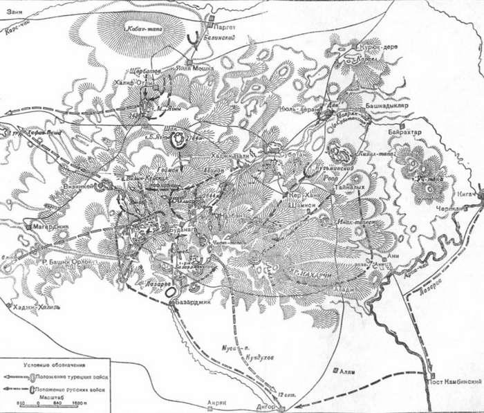 Блистательная победа русской армии в Авлияр-Аладжинском сражении-4 фото-