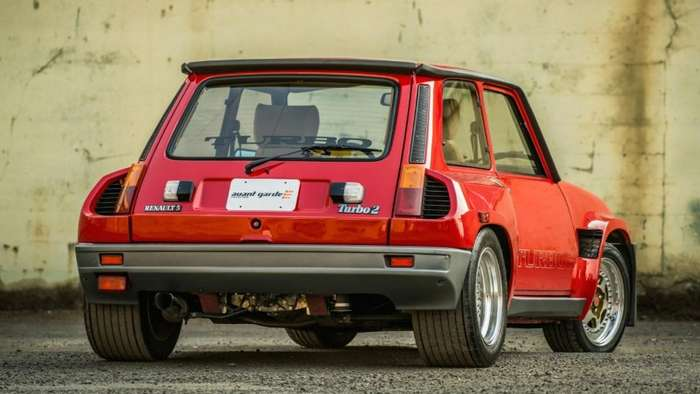 30-летний Renault R5 Turbo 2 Evo выставлен на аукцион-27 фото-