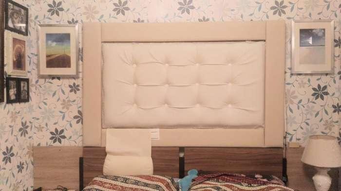 Делаем изголовье для кровати с подсветкой-17 фото + 1 тянучка-