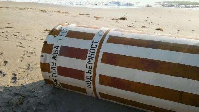 Из России с любовью: ураганом Ирма во Флориду занесло советский буй-8 фото-
