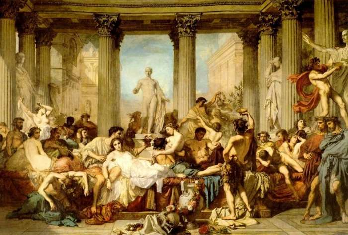 О кулинарии в Древнем Риме-4 фото-