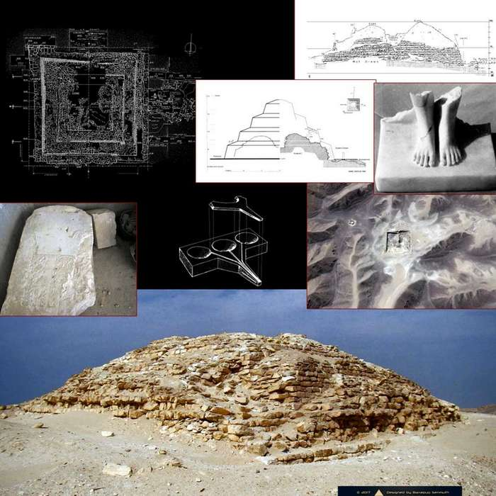 Пирамиды IV династии и их некоторые особенности-6 фото-