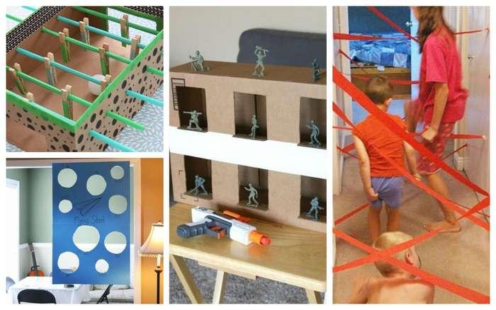 Чем занять детей дома надолго: полезные игровые пространства, которые выручат любого родителя-25 фото-