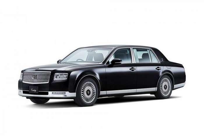 Эволюция самого роскошного автомобиля Японии-11 фото-