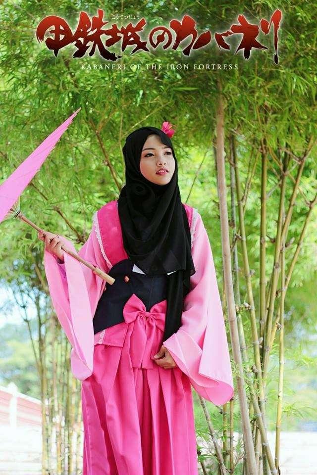 Эту девушку осудили за косплей в хиджабе: мусульманское аниме набирает обороты-16 фото-