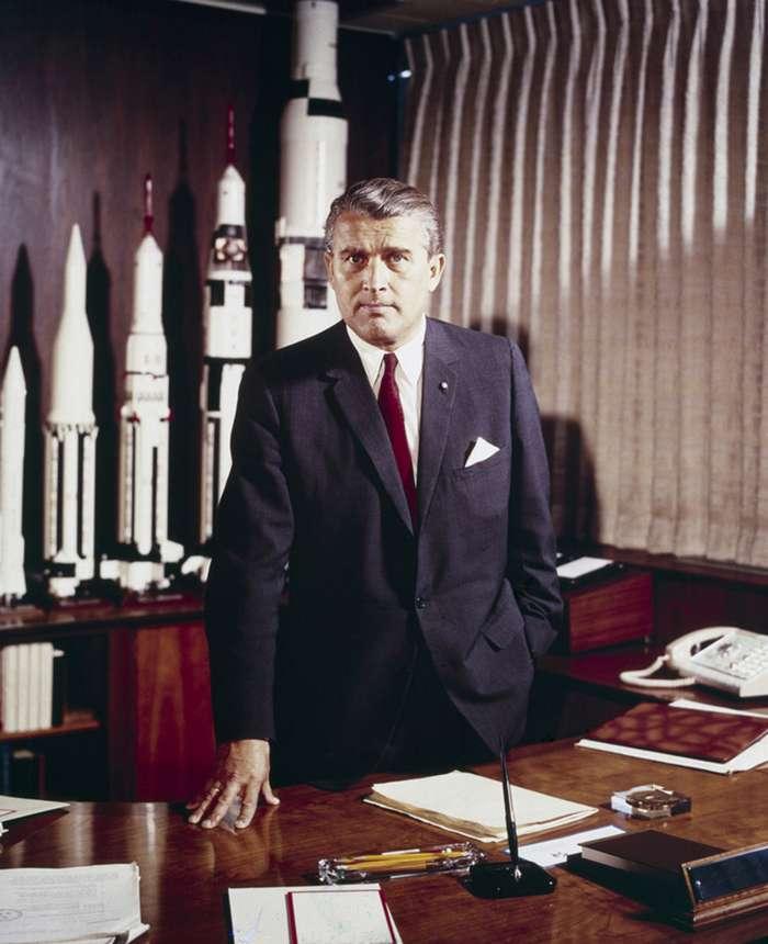 Вернер фон Браун - отец американской космонавтики-4 фото-