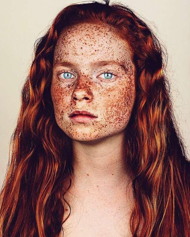 17доказательств того, что люди свеснушками обладают неземной красотой
