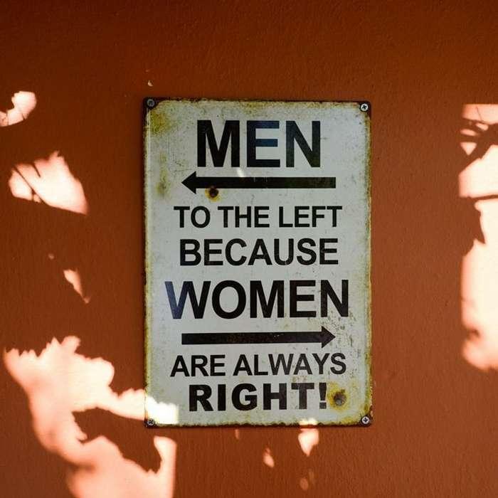 Самый сексистский пост - от -женщина не человек- до мальчиков-клоунов-26 фото + 1 видео-