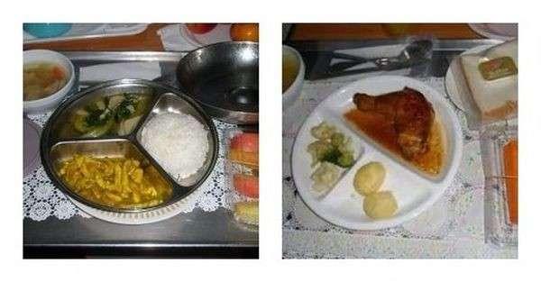 Чем кормят пациентов в больницах разных стран-21 фото-