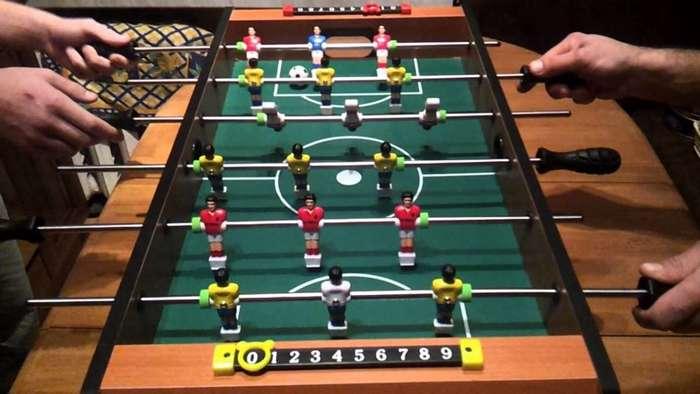 История настольного футбола-15 фото-
