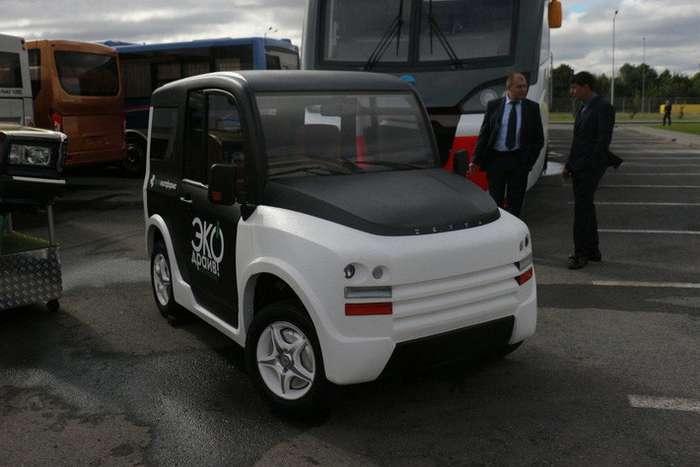Российские инженеры создали электромобиль на четырех моторах-1 фото-