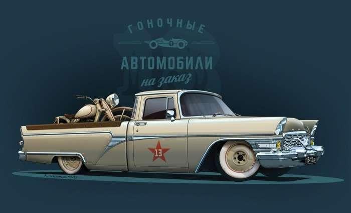 15 крутых советских машин, которые еще никто не видел-16 фото-