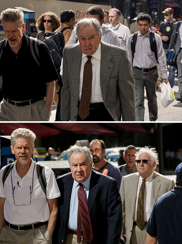 Фотограф 9 лет снимал одних и тех же людей, идущих на работу-32 фото-