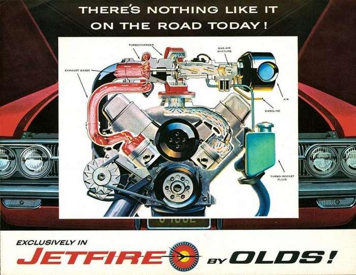 Первый серийный турбо: Oldsmobile F-85 Jetfire 1962 года-17 фото + 2 видео-