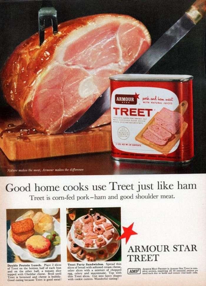 Мясо в банке: Спам и другое-18 фото-