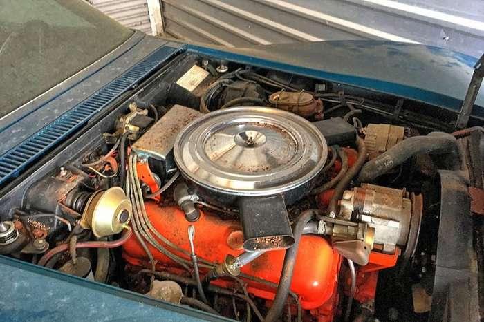 Chevrolet Corvette простоял нетронутым в гараже 45 лет-6 фото-