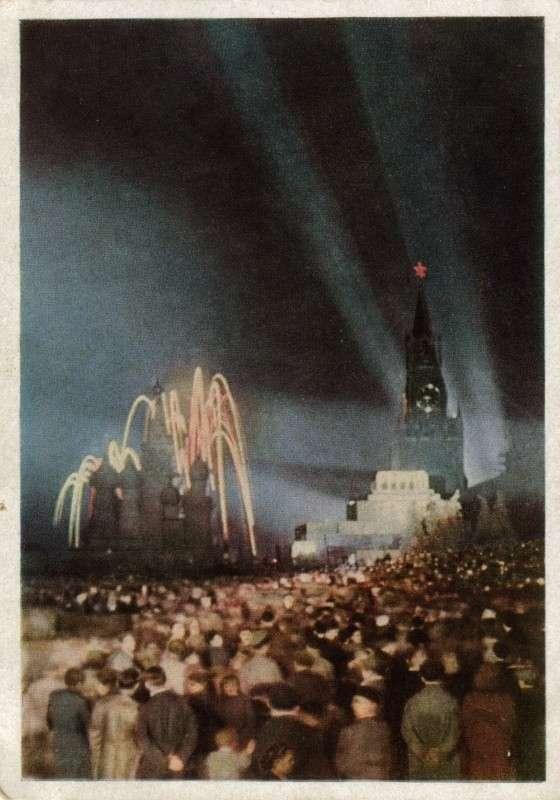 СССР 1947 года в цвете-20 фото-