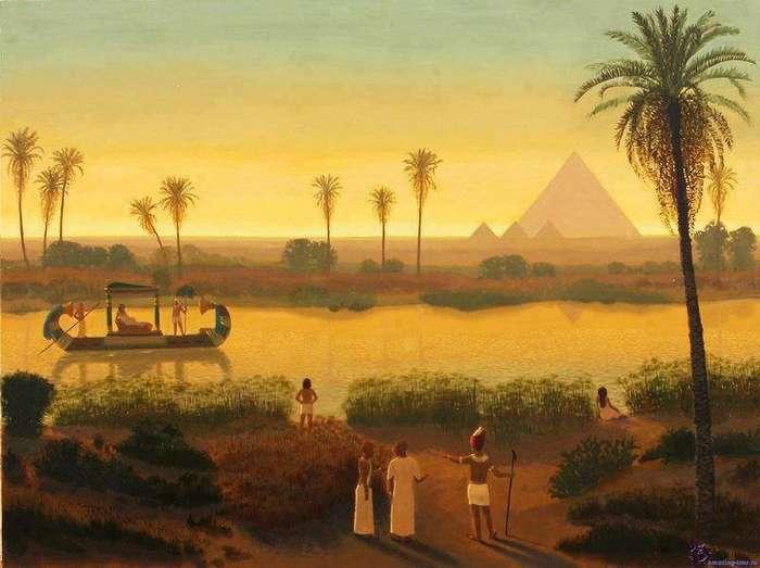 Интересно и познавательно о Древнем Египте-11 фото + 1 видео-