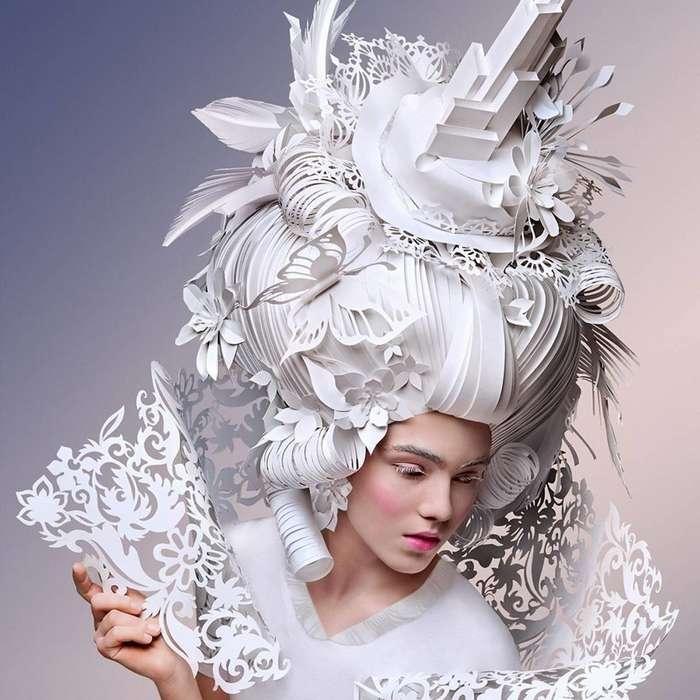 Ася Козина и её современная интерпретация париков эпохи барокко-27 фото-