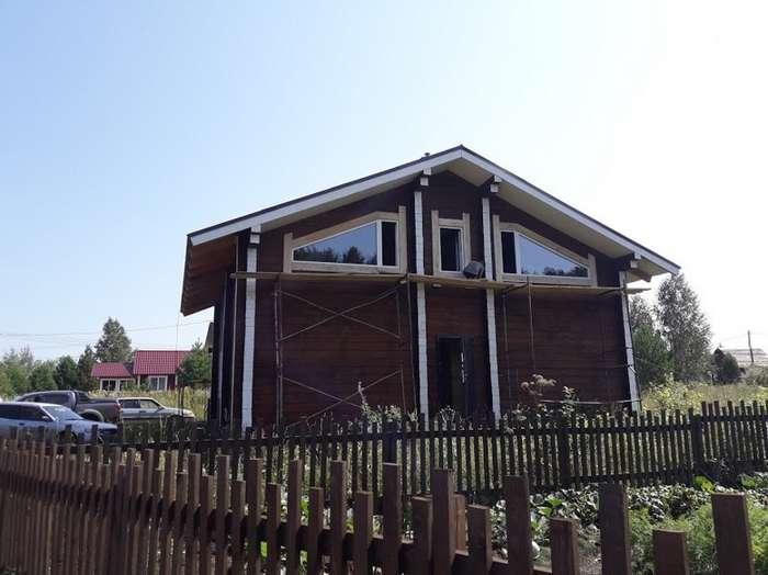 Рассказ про то, как мы дом строили-44 фото-
