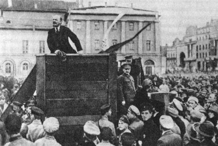 Фотохроника октября 1917-9 фото + 1 видео-