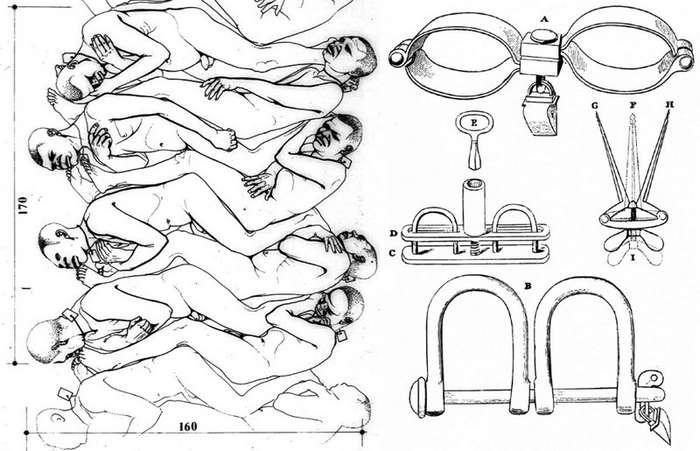 Как перевозили африканских рабов-10 фото-