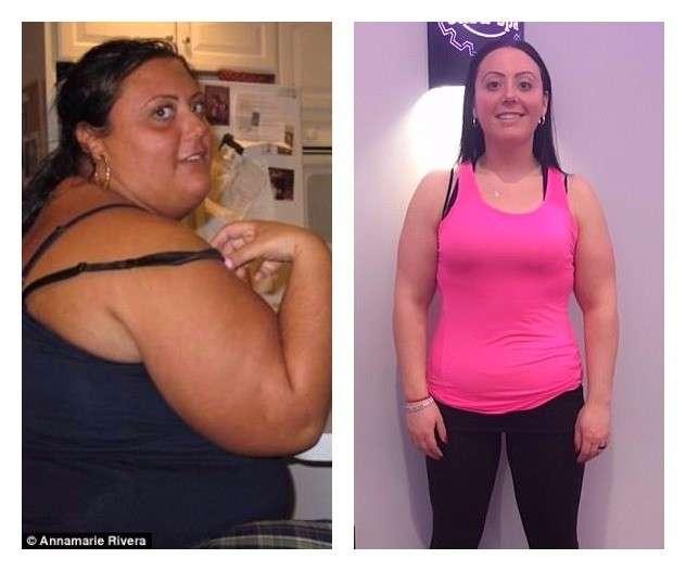 Женщина весом 180 кг сбросила более 100 кг только с помощью диеты и спорта-11 фото-