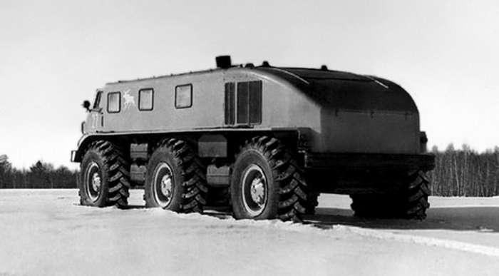 Слишком светлое будущее: советский супервездеход ЗИЛ-167Э - -лось--19 фото-