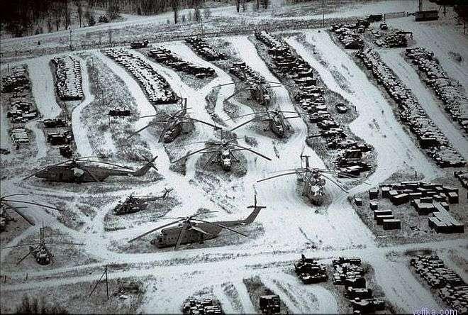 Техника Чернобыля после ликвидации-20 фото + 1 видео-