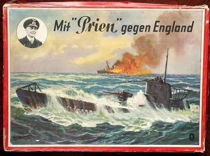 14 октября 1939г. - знаменитый рейд U-47 в Скапа-Флоу-5 фото-
