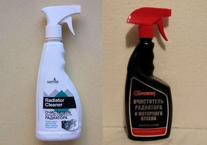 Сравнительный тест: чем лучше очистить радиатор от налипшей грязи-6 фото-