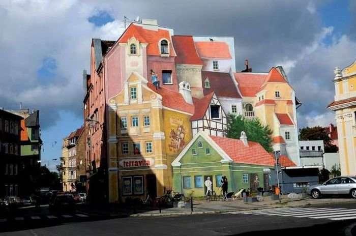Восхитительное уличное искусство-21 фото-