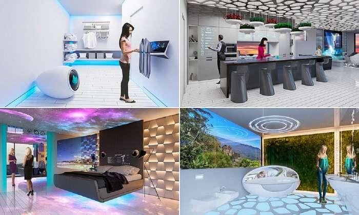 Австралийцы показали, какими будут умные дома 2040 года!-9 фото-