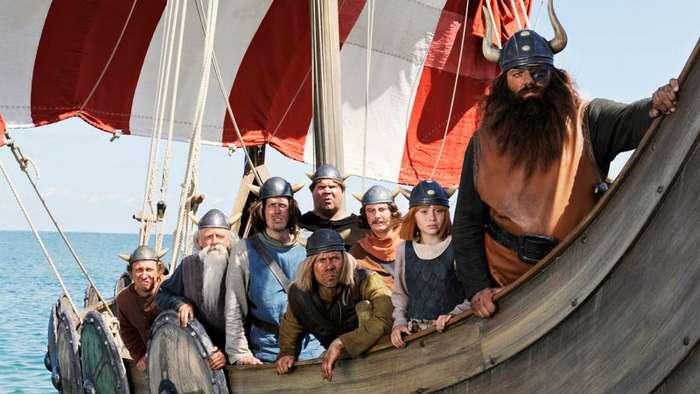 Как отважные викинги разгромили англичан-6 фото + 1 видео-