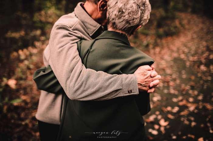 Любовь длиною в жизнь: фотосессия семейной пары, прожившей вместе 68 лет-18 фото-