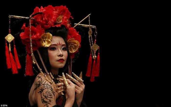 Шляпы из волос и другая красота: неделя моды-2018 в Джакарте-18 фото-
