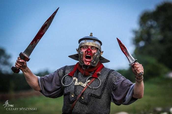 Римский легион-5 фото + 1 видео-