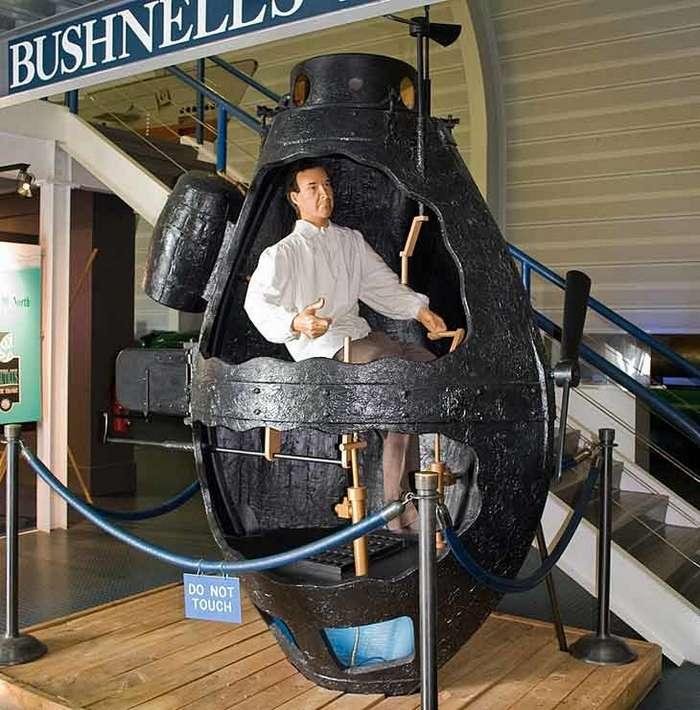 деревянная подводная лодка черепаха