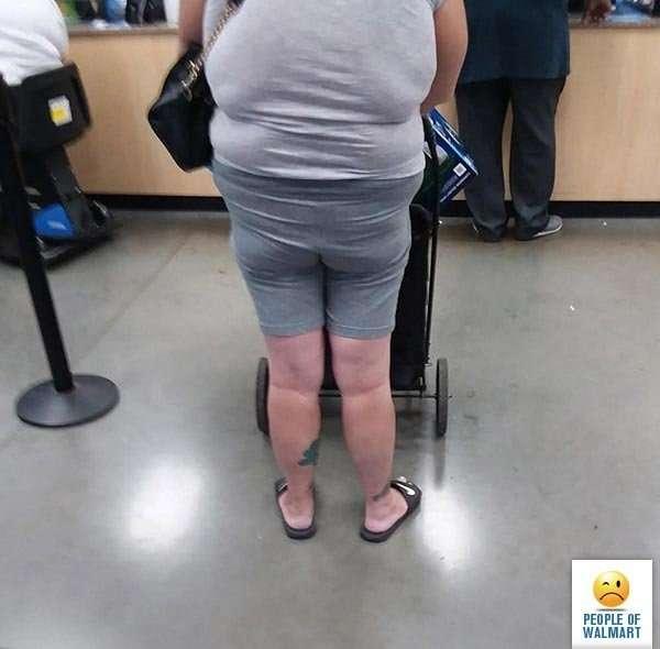 Экстравагантные покупатели Walmart-23 фото-