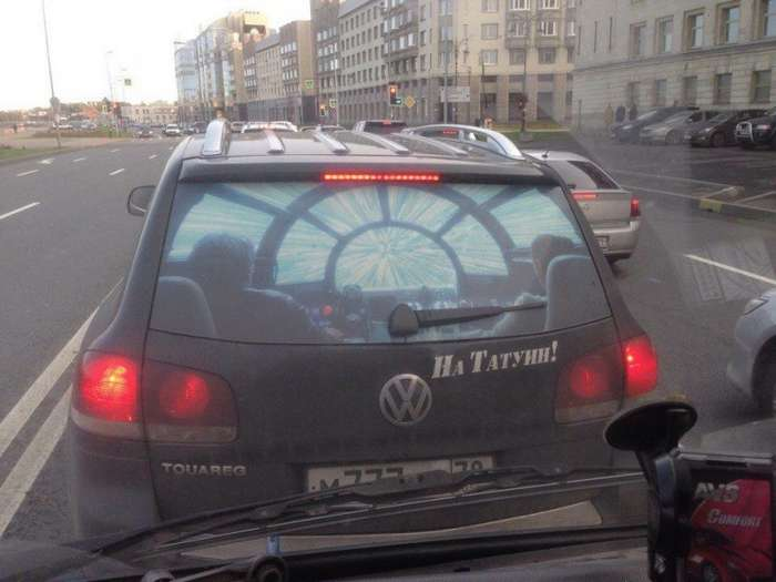Подборка автомобильных приколов-16 фото-