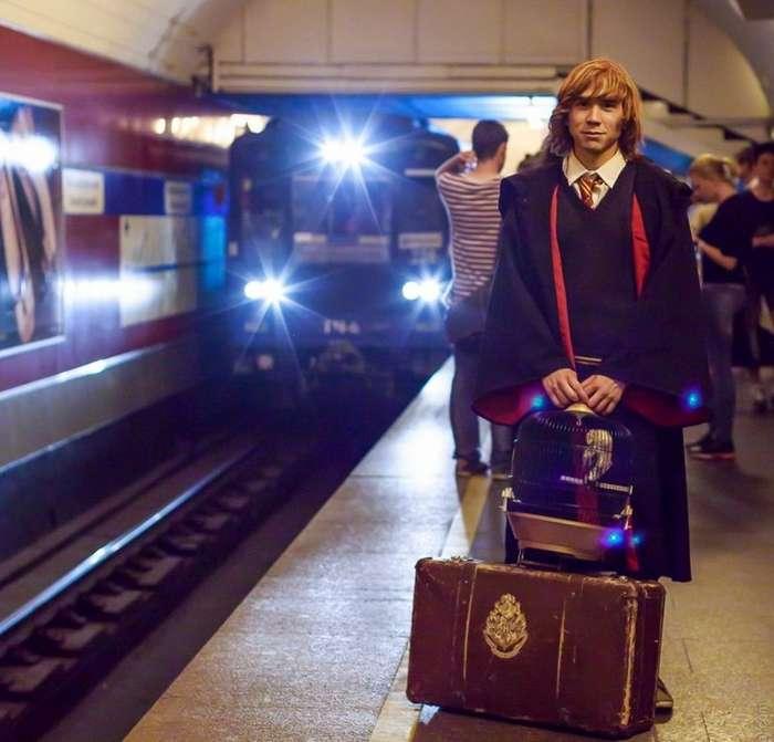 Интеллигентное безумие, или странная мода петербургских улиц-14 фото-